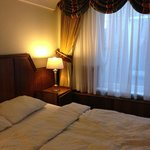 La camera e il letto comodissimo