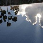 Plunge pool reflection