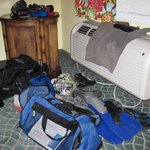 Diving equipment drying