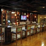 The Bar is a superb space for meeting and socializing