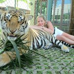 Me with the large tiger
