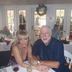 Christmas luncheon at Old Captiva House