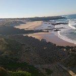 Вид на пляж Гуинчи из нашего окна!