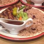 Jerk chicken meal, can't go wrong with this.