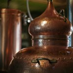 One of our Alembic Copper Pot Stills