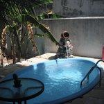 pequena piscina