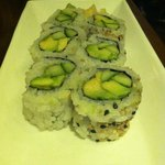 Cucumber/avocado rolls: average