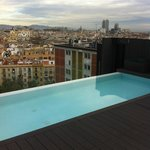 piscina panoramica de Barcelona