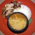 Roast Pork with Rice & Beans