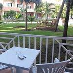 Grand Bahia Principe Bavaro mini-suite Hacienda terrazzino
