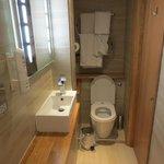 compact but nice bathroom