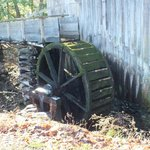 Water wheel at a Smoky Mtn. historic home