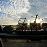 Breakfast/brunch under a stunning Botswana sky