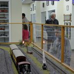 Loved the interactive trains!
