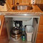 kitchenette is stocked