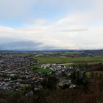A view of Stirling from the memorial