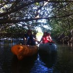 Exploring the lagoon