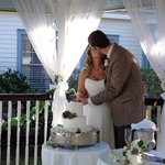 Wedding in the gazebo