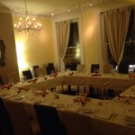 Private room for Christmas party