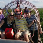 Family dat Airboating - Spirit of the Swamp!