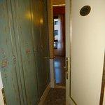 Entrada do quarto 208