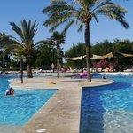 Club Cala Romani pool side