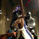 Jousting Display in the Great Hall