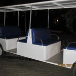 Shuttle for use between hotels