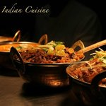 Yummy all the different curries