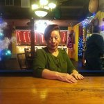 Miss Pat, the best waitress ever!