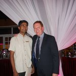 My good friend Manik who worked day and night and always had a smile