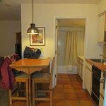 kitchen / bathroom area