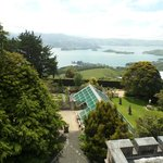 View from rooftop of Larnach Castle