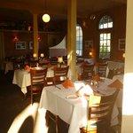 Inside Panama Hotel Dining Room
