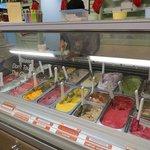 ice cream selections