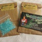 """""""Blue crystal meth"""" candy"""