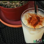 Horchata - Rice drink with cinnamon