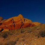 Gorgeous colors at Red Rock Canyon