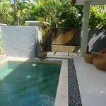Pool at the Villa