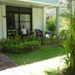 Dlx Bungalow - good size terrace, nice garden view