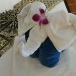 Towel elephant