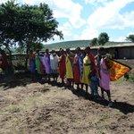 Masai Tanzvorführung