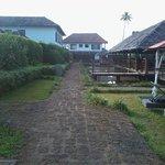 Back side road