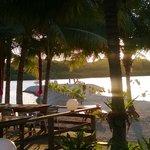 resort view to water