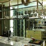 Kitchen/ mini bar