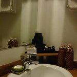 Bathroom amenities are good standard