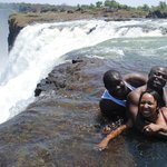 Front seat 'on board' Mighty Victoria Falls! over a natural wonder!