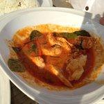 Luna Lanai beach bar: red curry. It's fantastic