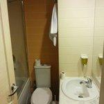 Salle de bain minuscule