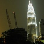 Petronas Tower as seen from room